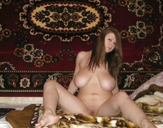 Various amateur women are proud of their big..