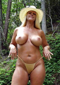 Hot MILFs with enormous silicone boobs, unreal..