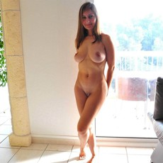 Beautiful lady shows her great body... and so..