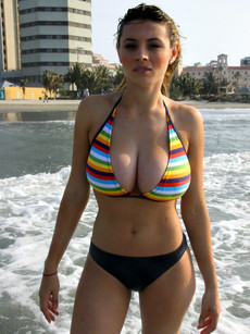 Bikini babes with big boobs