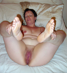 Husband takes pictures of his wife nude in the..