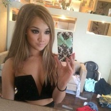 Awesome asian babes private selfies, non-nude..